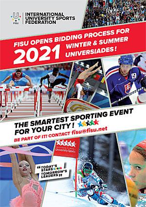 fisu opens bidding   universiades