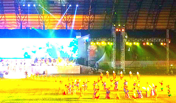 Palembang On  The Th Edition Of The Asean University Games Kicked Off The Splendid Opening Ceremony Was Staged At The Main Stadium Of