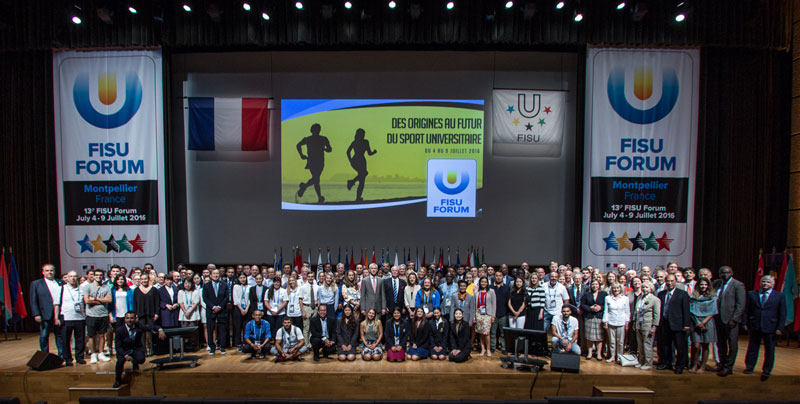 The southern French student city of Montpellier hosted the most recent FISU Forum in 2016