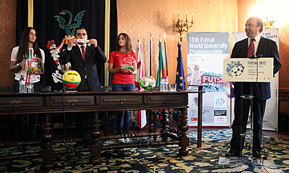 futsal.wuc2012.uminho.pt, Braga 2012, futsal, WUC 2012, студенческий футзал, ВФСА