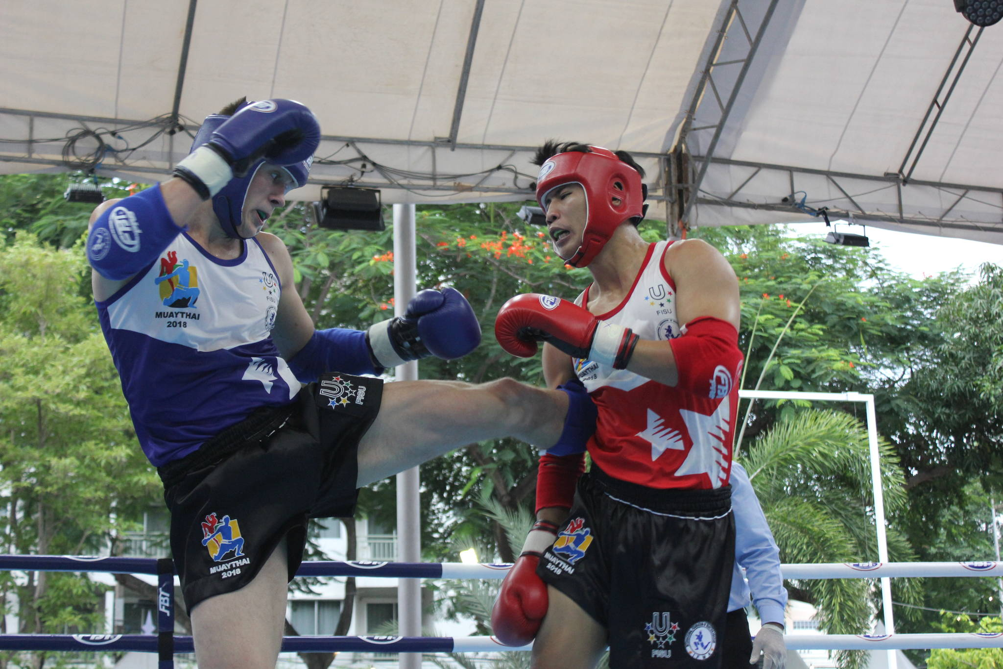 Home crowds boost Team Thailand at Muaythai Championship