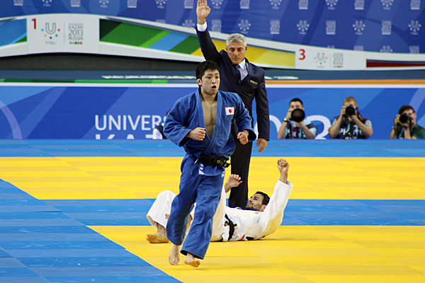 High-Level Judo Competition ended
