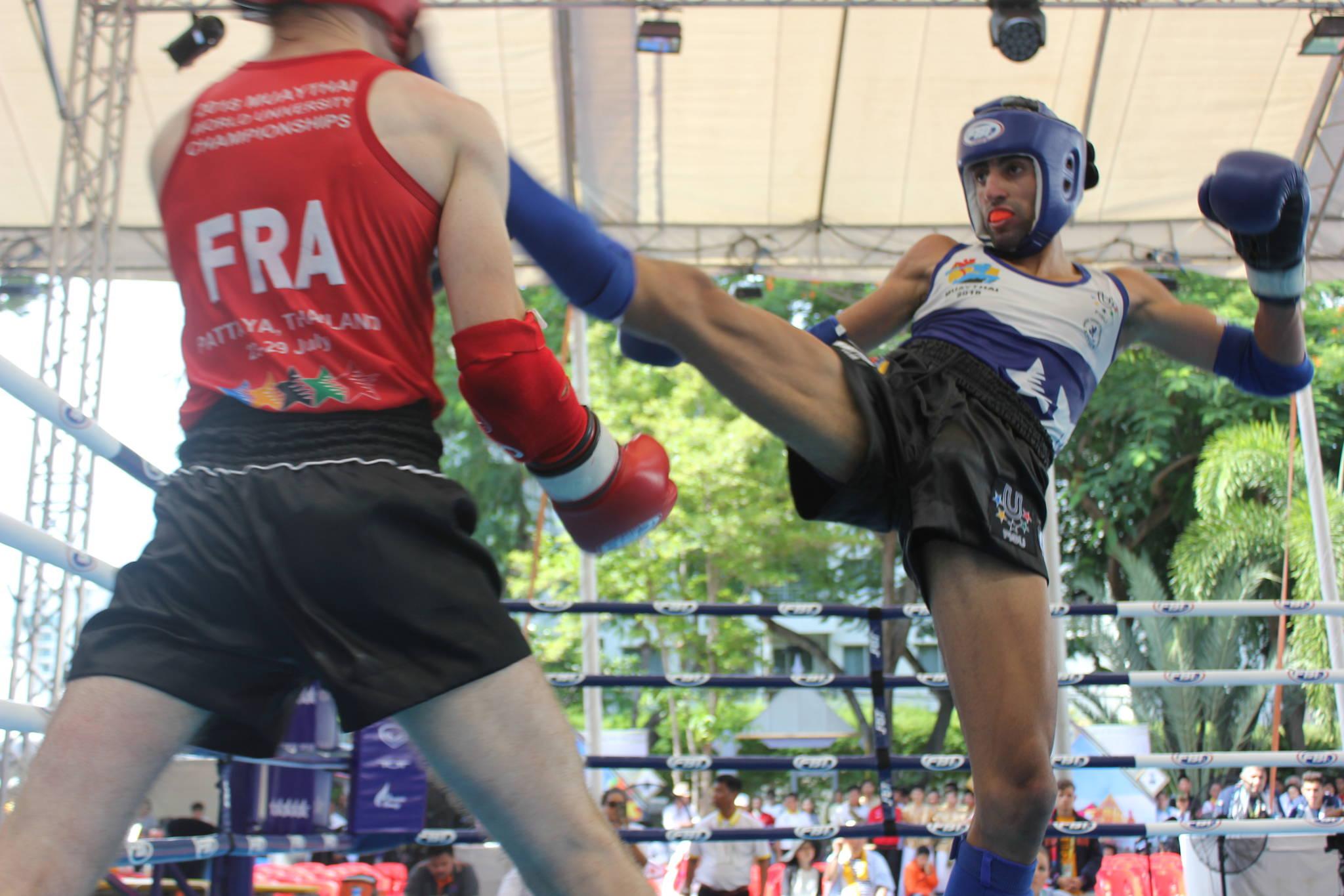 World Champion Nili Block packs a punch at WUC Muaythai