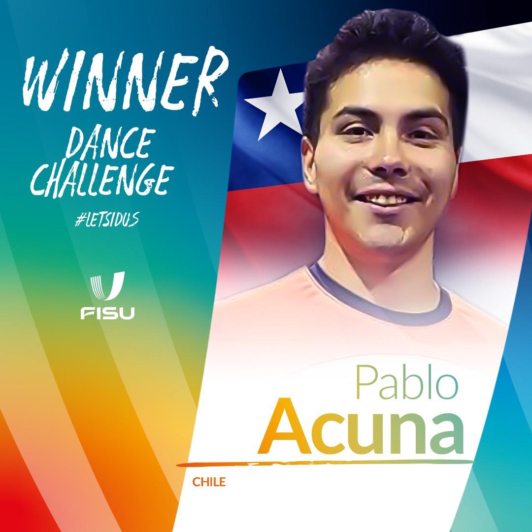 Ganador del FISU IDUS Dance Challenge