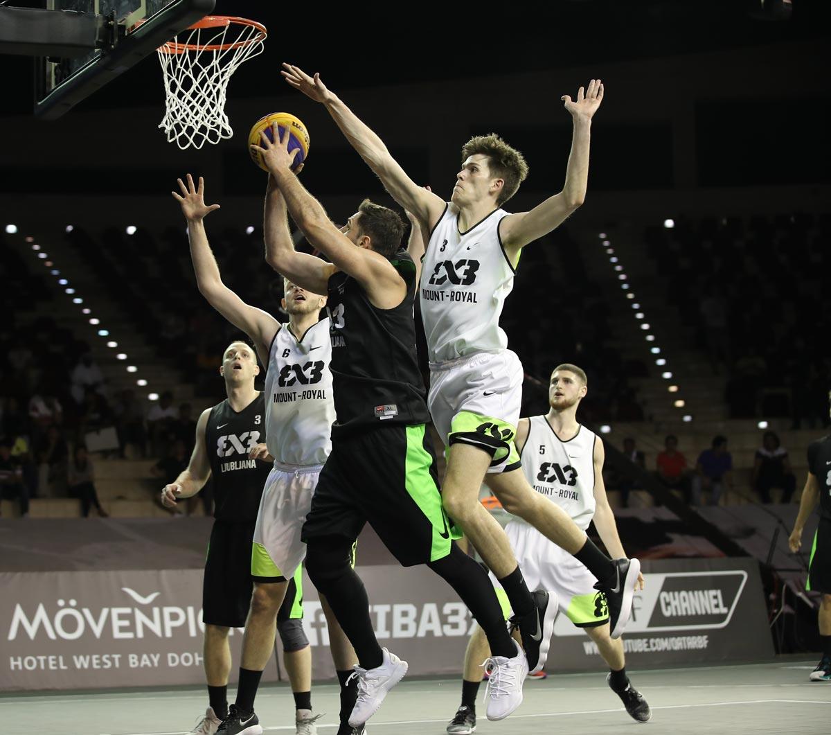 University World Cup runners-up cut their teeth on FIBA 3x3 World Tour