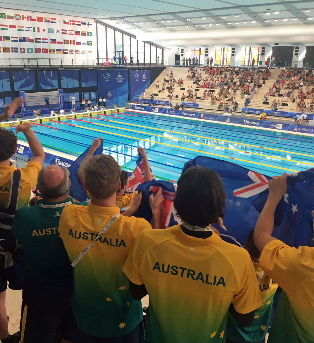 USA complete domination of the pool on final day